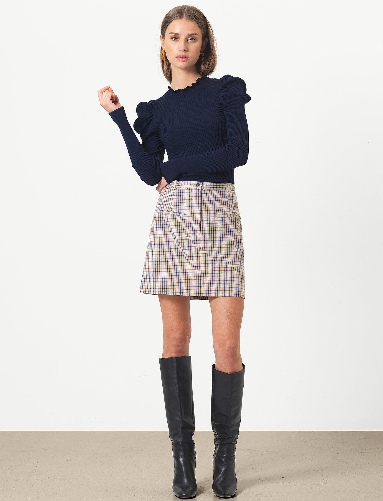 Second Female - Eloa Skirt - korta kjolar - nautical blue - 0
