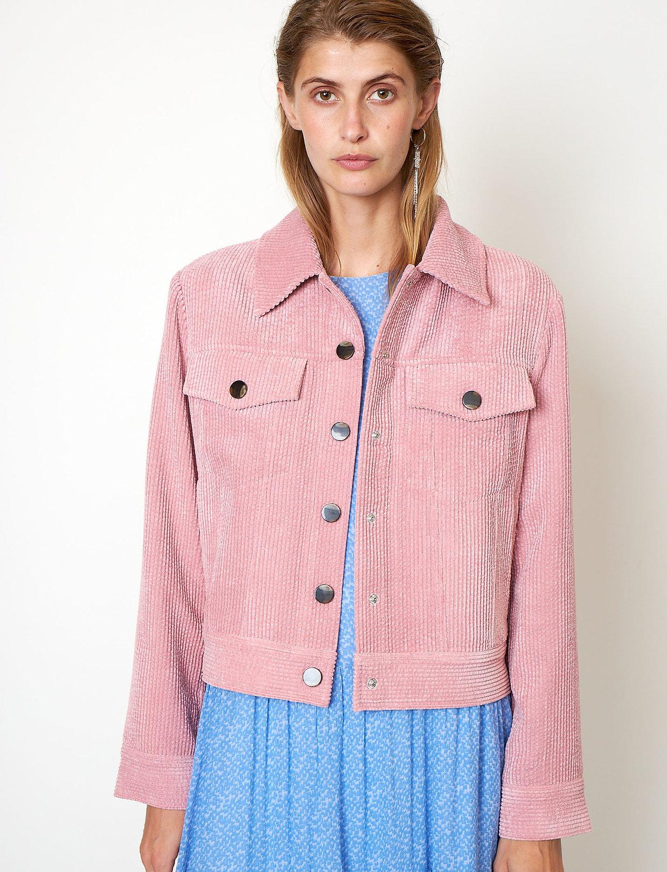 Second Female - Boyas Jeans Jacket - jeansjackor - lilas - 0
