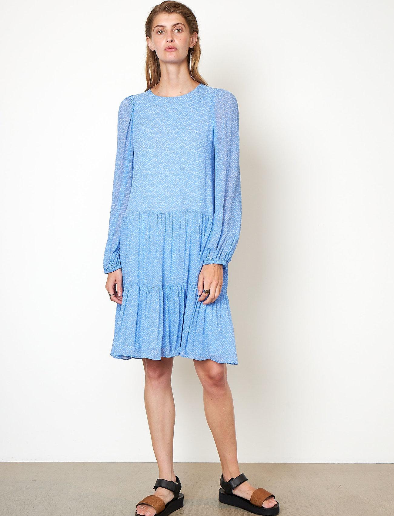 Second Female - Mano Dress - sommarklänningar - blue bonnet - 0