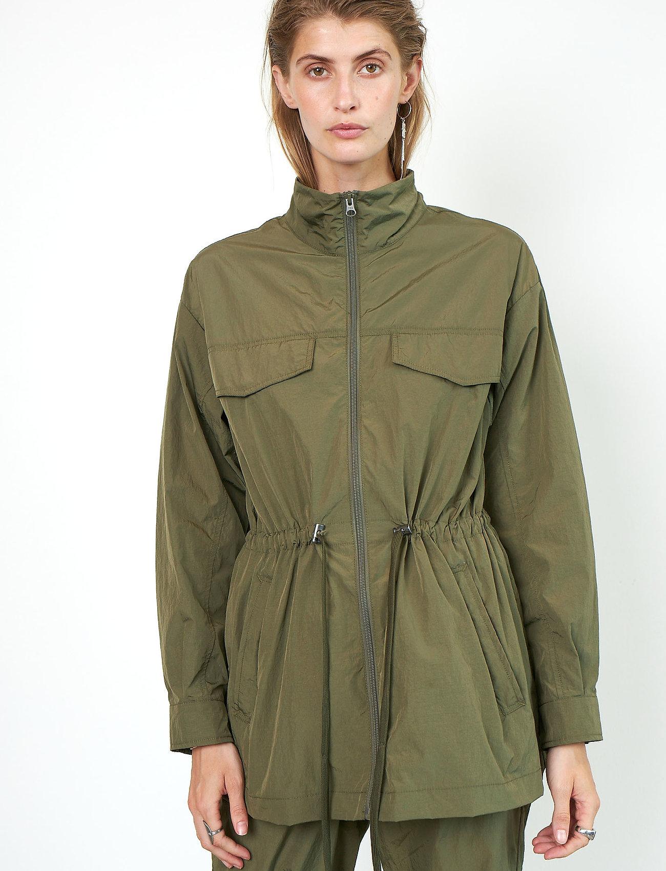 Second Female - Season New Jacket - parkasjackor - olive night - 0