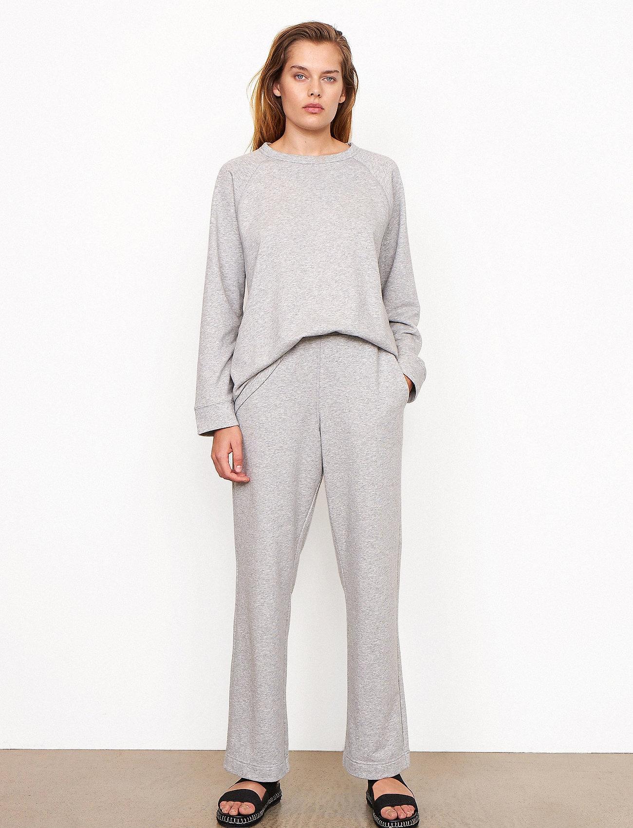 Second Female - Osaka Sweat Pants - sweatpants - grey melange - 0