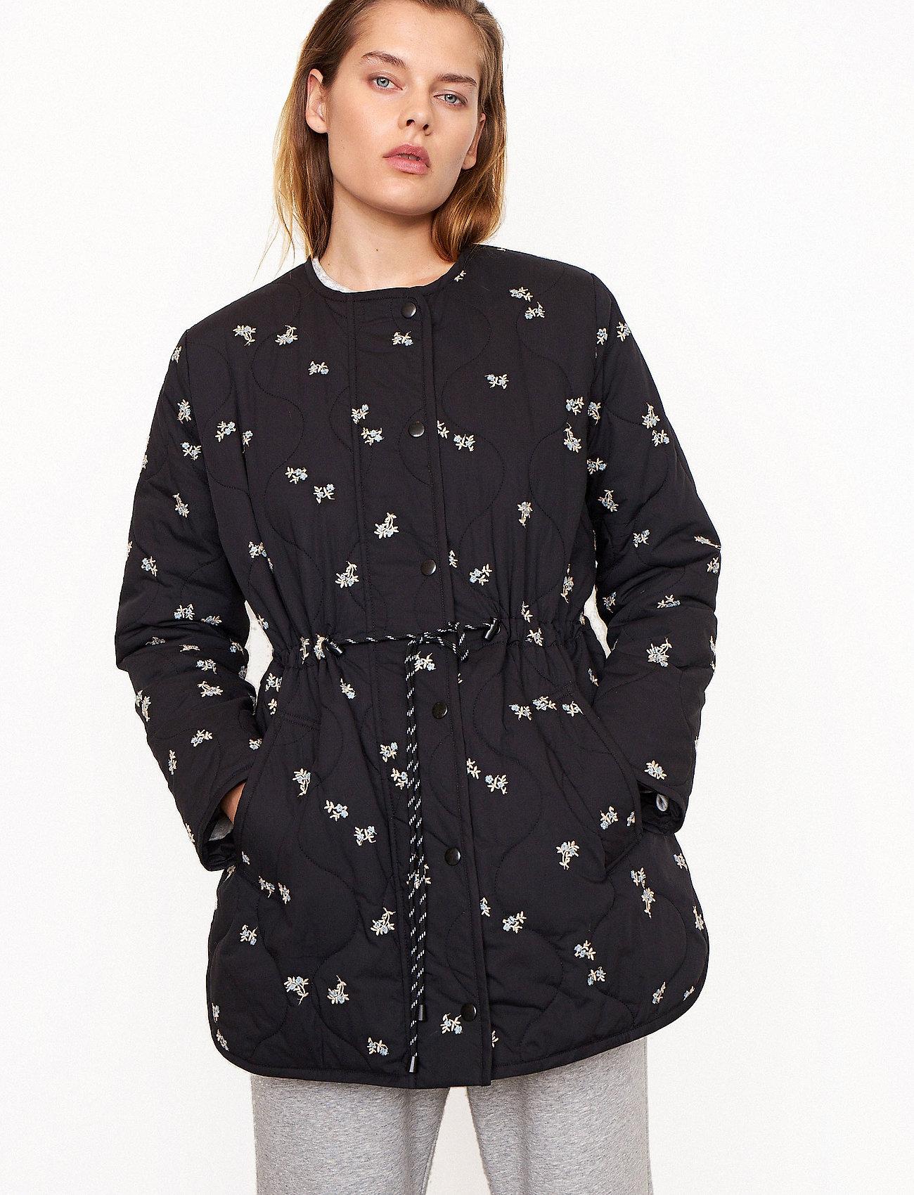 Second Female - California Quilt Jacket - quiltade jackor - black - 0