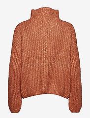 Second Female - Ambra Knit T-neck - pulls col roulé - carnelian - 1