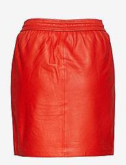 Second Female - Ivana Leather Skirt - short skirts - valiant poppy - 1
