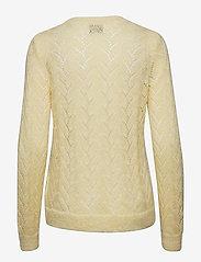 Second Female - Basili Knit O-Neck - jumpers - sunshine - 1