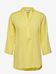Second Female - Mardi Blouse - long sleeved blouses - sunshine - 0