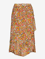Second Female - Bloom Skirt - midi skirts - blazing orange - 0