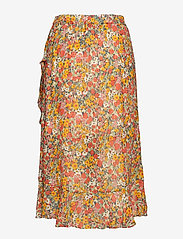 Second Female - Bloom Skirt - midi skirts - blazing orange - 1
