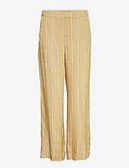 Second Female - Meril Trousers - wide leg trousers - sesam - 0