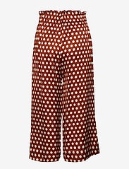 Second Female - Spotty HW Trousers - wide leg trousers - rustic brown - 1