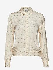 Second Female - Davina Short Shirt - long sleeved blouses - fair orchid - 0