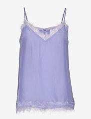 Second Female - Macy Strap Top - sleeveless blouses - pale iris - 0