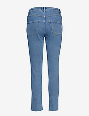Second Female - Sille HW Jeans - straight jeans - blue denim - 1