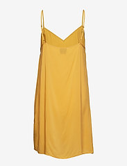 Second Female - Snake Midi Dress - korta klänningar - chai tea - 3