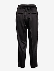Second Female - This elegant trousers are made from a luxurious po lyester s - bukser med lige ben - black - 1