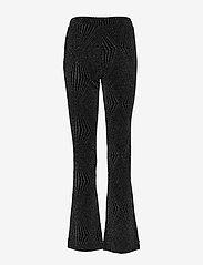 Second Female - Marisa MW Trousers - bukser med brede ben - black - 1
