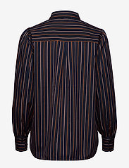 Second Female - Agona LS Shirt - långärmade skjortor - night sky - 1