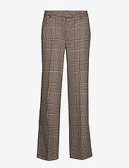 Second Female - Ainine HW Trousers - bukser med lige ben - black - 0