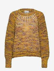 Second Female - Oak Knit O-Neck - trøjer - golden rod - 0