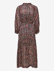 Second Female - Signe SS Maxi Dress - midiklänningar - black - 1