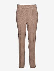 Second Female - Lena HW Trousers - bukser med lige ben - brandied melon - 0