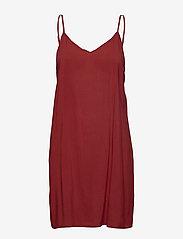 Second Female - Tul SS Long Dress - midi kjoler - henna - 3