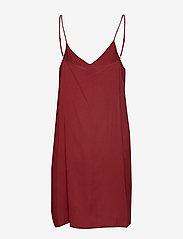Second Female - Tul SS Long Dress - midi kjoler - henna - 4