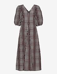 Second Female - Emily SS Long Dress - midi kjoler - henna - 0