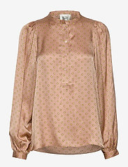 Second Female - Berri LS Blouse - langermede bluser - praline - 1