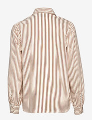 Second Female - Kiara LS Shirt - langermede skjorter - praline - 1