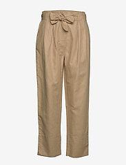 Second Female - Selene MW Trousers - rette bukser - cuban sand - 0