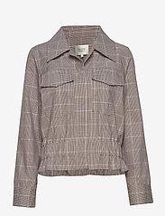 Second Female - Jimena LS Shirt - lichte jassen - rubber - 0
