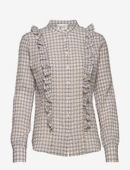 Second Female - Mao LS Shirt - langærmede bluser - pale iris - 0