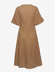 Second Female - Milly SS Dress - midiklänningar - praline - 1