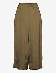 Second Female - Minga New Trousers - bukser med brede ben - stone green - 1