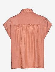 Second Female - Auso Shirt - kortermede skjorter - mocha mousse - 2