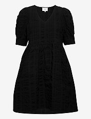 Second Female - Kale Dress - korta klänningar - black - 1