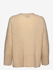 Second Female - Koorb Knit O-Neck - trøjer - marzipan - 2