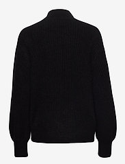 Second Female - Galia Knit T-Neck - trøjer - black - 1