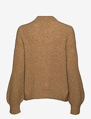 Second Female - Galia Knit T-Neck - trøjer - bone brown - 1