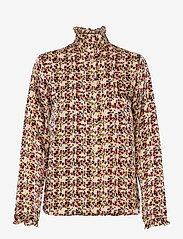 Second Female - Decor Shirt - långärmade blusar - marzipan - 1