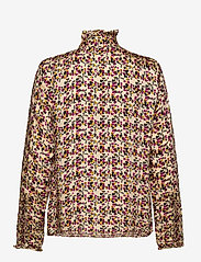 Second Female - Decor Shirt - långärmade blusar - marzipan - 2