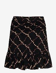 Second Female - Louis Skirt - korta kjolar - caviar - 0