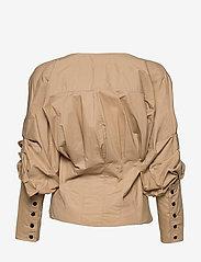 Second Female - Addison Shirt - långärmade blusar - ginger root - 2