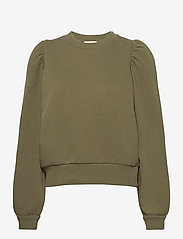 Second Female - Carmella Sweat - sweatshirts - olive night - 0