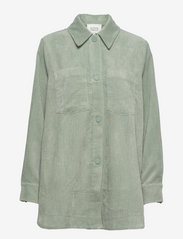 Second Female - Boyas Jacket - overshirts - green milieu - 0