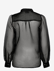 Second Female - Opal Shirt - långärmade blusar - black - 2