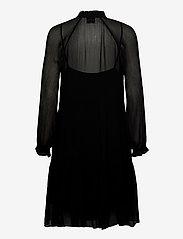 Second Female - Tul Dress - midiklänningar - black - 1