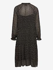 Second Female - Della Dress - midiklänningar - caviar - 1