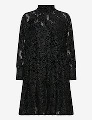 Second Female - Audrey Dress - cocktailkjoler - black - 0